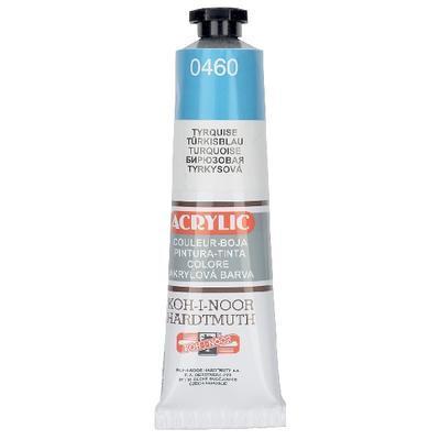 Akrylová barva Acrylic 40 ml č.0460 - tyrkysová