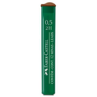 Faber-Castell Mikrotuhy  grafitové - 0,5 mm, 2H,  12 ks