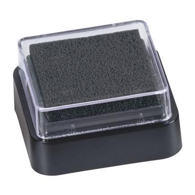 Razítkovací polštářek mini 3x3 cm - černý