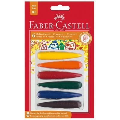 """Faber-Castell Plastové pastelky do dlaně  6 ks /4+/ i pro """"L"""" - 1"""