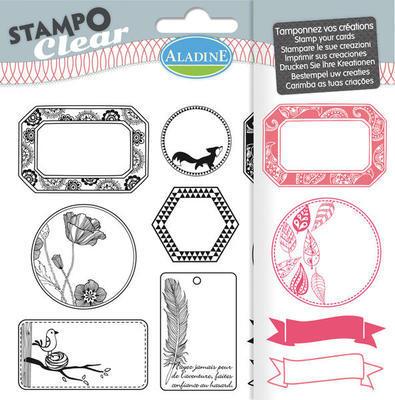 StampoClear Gelová razítka - Visačky