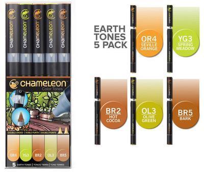 Chameleon Color Tones - 5 ks, Earth Tones - 1