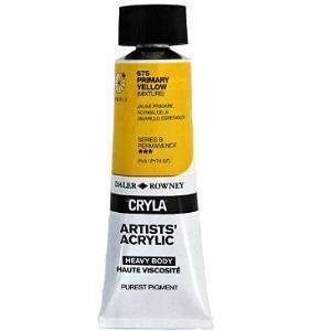 Daler & Rowney Cryla B 75 ml - primary yellow 675 - 1