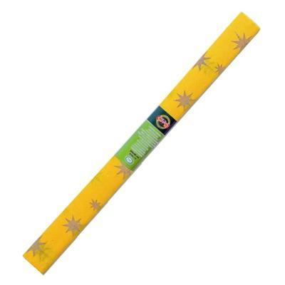 Koh-i-noor Krepový papír 9755/72 - hvězda žluto zlatý
