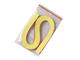 Proužky na Quilling šířka 3mm - světle žluté - 1/2