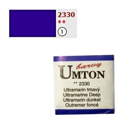 Akvarelová barva 2,6ml - Ultramarin tmavý - 1