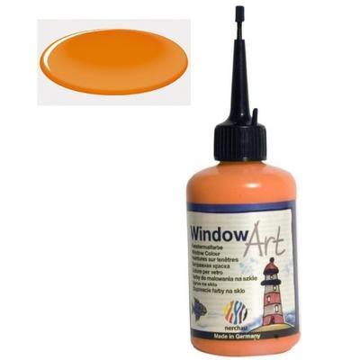 Barva na sklo Window Art  80 ml - oranžová