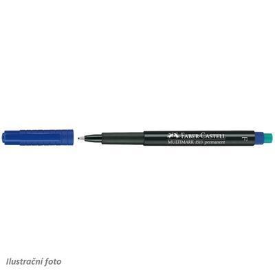 Faber-Castell MULTIMARK Permanent F   Popisovač CD/DVD - modrý - 1