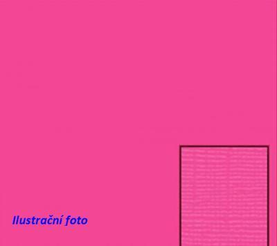 Scrapbookový papír COR 227 30x30 cm 160 g FUCHSIA FIZZ