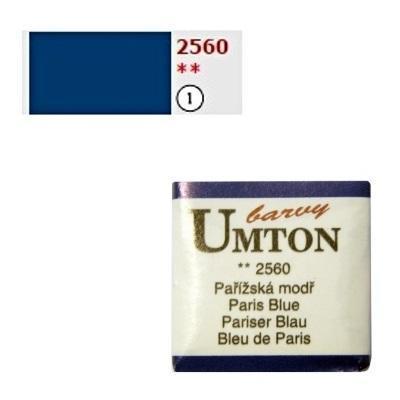 Akvarelová barva 2,6ml - Pařížská modř - 1