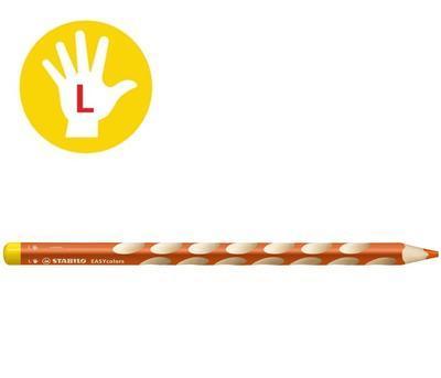Stabilo EASYcolors 331/221 Pastelka pro leváky - oranžová - 1