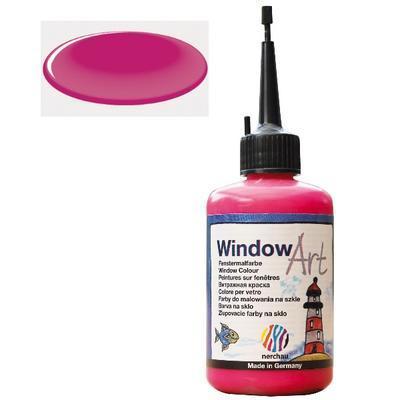 Barva na sklo Window Art  80 ml - červená magenta