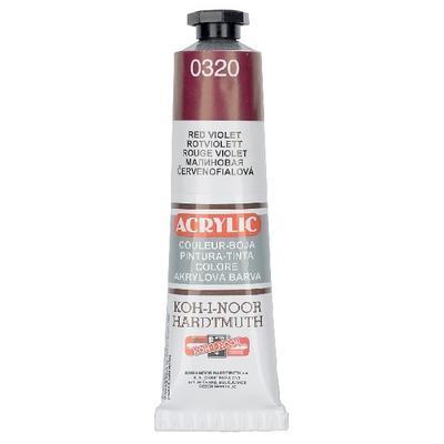 Akrylová barva Acrylic 40 ml č.0320 - červenofialová