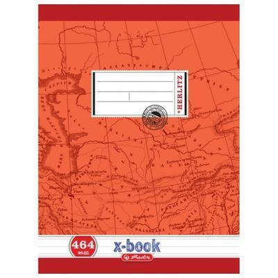 Školní sešit A4 464, bezdřevý linkovaný - 60 listů