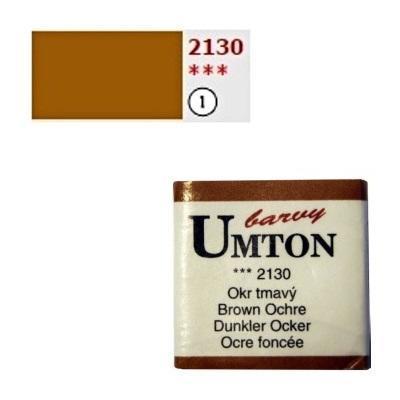 Akvarelová barva 2,6ml - Okr tmavý - 1