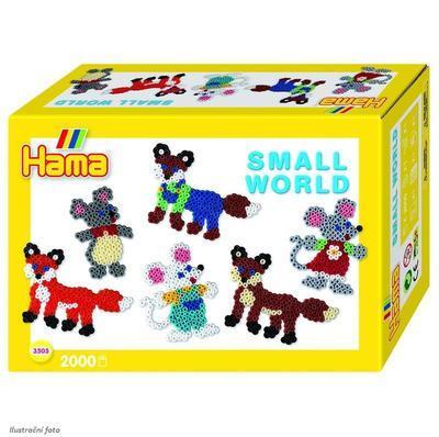 Hama Midi Malý svět - Zvířátka z lesa, 2000 ks  - 1