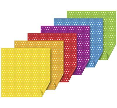 List origami puntíkatý 66ks - 10x10cm - 1