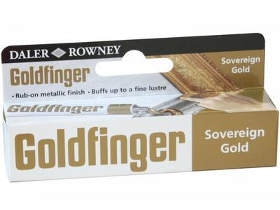 Daler & Rowney Goldfinger Sovereign Gold Pasta ke zlacení - 22ml - 1