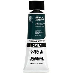 Daler & Rowney Cryla A 75 ml - phthalo turquoise  154 - 1