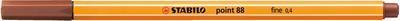 Stabilo Point 88/38 - okrová - 0,4mm - 1