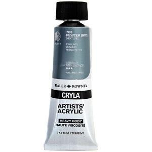 Daler & Rowney Cryla D 75 ml - pewter imitace 703 - 1