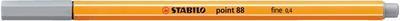 Stabilo Point 88/95 - středně šedá - 0,4mm - 1