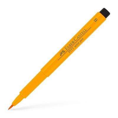 Faber-Castell PITT Artist Pen B - tmavý chromový žlutý č. 109 - 1