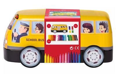 Faber-Castell Fixy Connector plechový autobus /33ks/ - 1