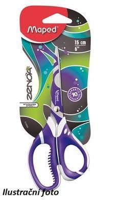 Nůžky Maped Zenoa Fit /15cm/ - špičaté - 1