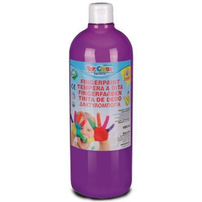 ToyColor Prstová barva 1000 ml - fialová supervypratelná !