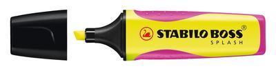 Stabilo Zvýrazňovač BOSS SPLASH - žlutý - 2