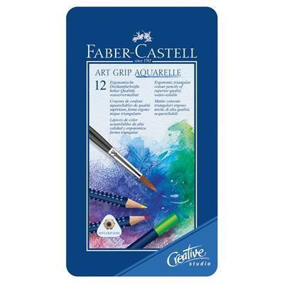"Faber-Castell Pastelky ART GRIP Aquarelle - 12 ks i pro ""L"" - 2"
