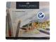 Faber-Castell Pastelky Goldfaber Aqua - 24 ks v kovové kazetě - 2/4