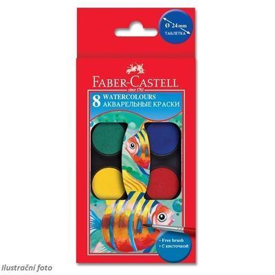 Faber-Castell Vodovky 8 barev  - 2