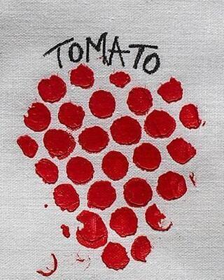 Izink pasta 3D, 75 ml - Tomato, červená - 2
