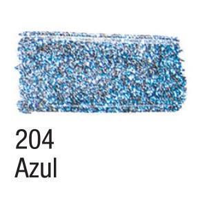 Acrilex Barva na textil 37ml - glitrová modrá 204 - 2
