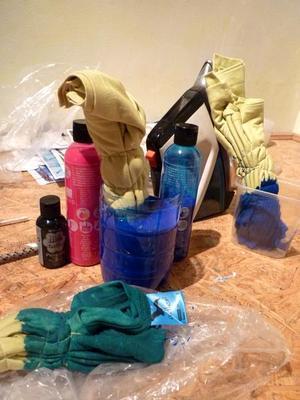 IZINK Textilní tekutá barva šedá - 180 ml - 2