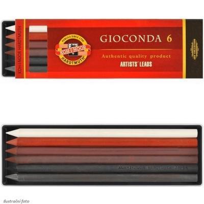 Gioconda Souprava uměleckých kříd a jader - mix barev (4865/4B,8673/1,4378,4377,4373,4371) - 2