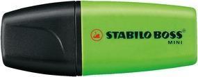 Zvýrazňovač STABILO BOSS MINI 07/33 - zelený - 2
