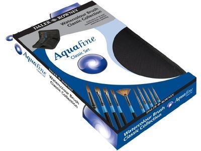 Daler&Rowney Aquafine Classic Set - 10ks akvarelových štětců v pouzdře - 2