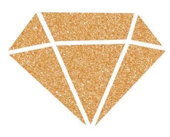 Diamantová barva 80 ml - měděná - 2