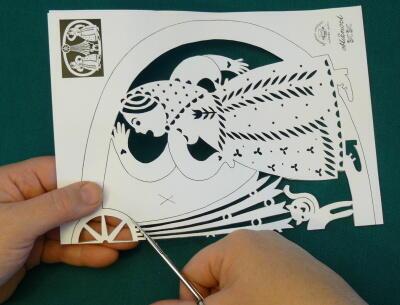 Kratochvilné vystřihovánky č.38 - Motivy tříkrálové - 2