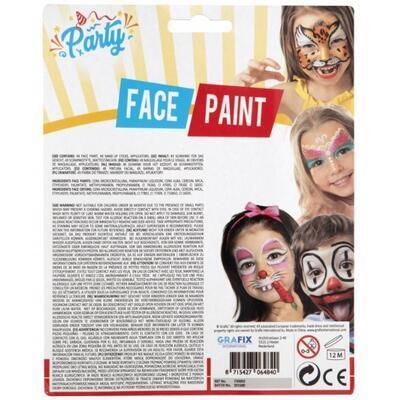 Barvy na obličej, 4 barvy - 2
