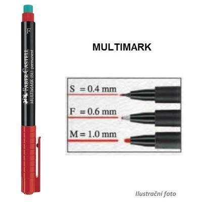 Faber-Castell Multimark Permanent M   Popisovač CD/DVD - černý    - 2