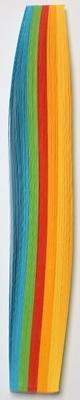 Proužky na Quilling intenzivní - 5 barev, 250 ks - 2