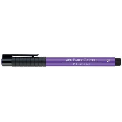 Faber-Castell PITT Artist Pen B - purpurově fialový č. 136 - 2