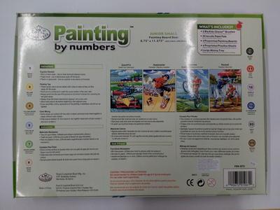 Malování podle čísel Junior Small Acryl - 2