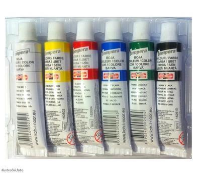 Koh-i-noor Temperové barvy - 6 x16 ml - 2