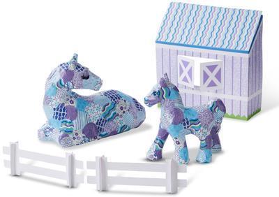 Decoupage - Kůň a pony - 2