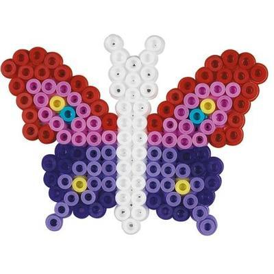 Hama Midi Korálkový set - Motýl a květina - 2